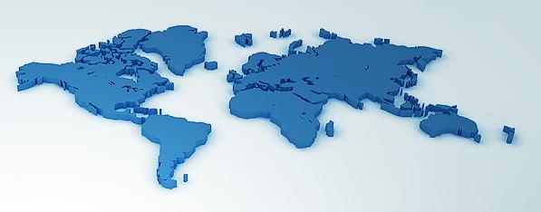 Mapa Mundial FCI