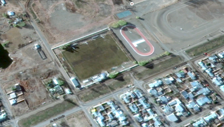 Plano 3 - Estadio Municipal de Senilloza